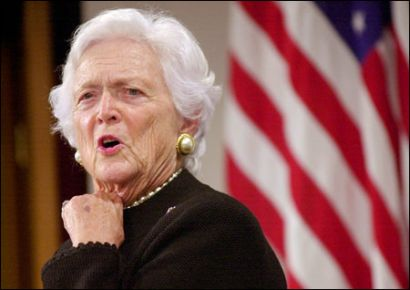 barbara bush