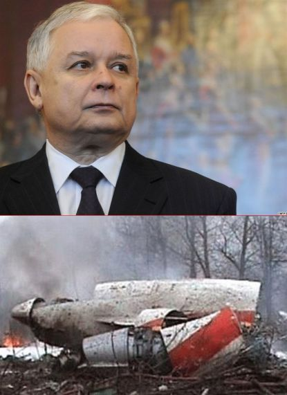 polish prez plane crash