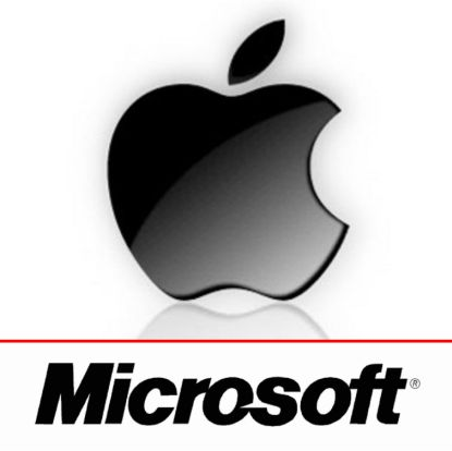 Apple Beats Microsoft