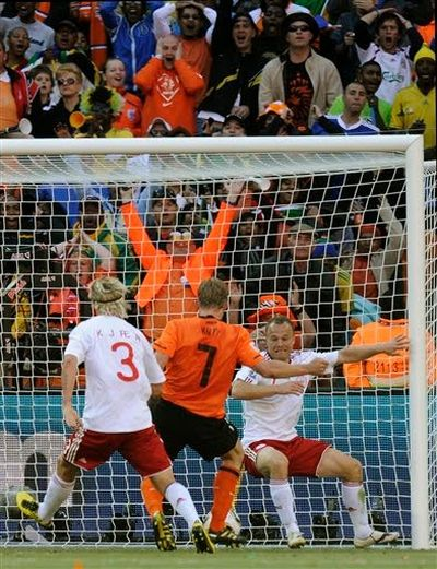 Netherlands 2nd goal