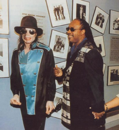 stevie wonder and michael jackson