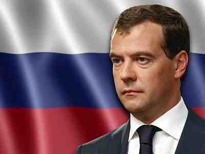 Russian President Dmitry Medvedev